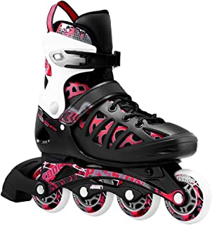 Ailunhua Adult/Youth Inline Skates Adjustable Outdoor Speed Roller Skates Inline Skates for Men/Women/Boys/Girls/Ladies