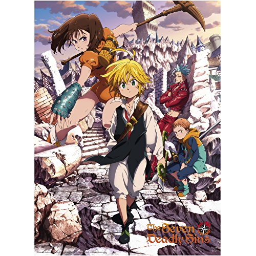 ABYstyle - THE SEVEN DEADLY SINS - Poster - Sins (52x38)