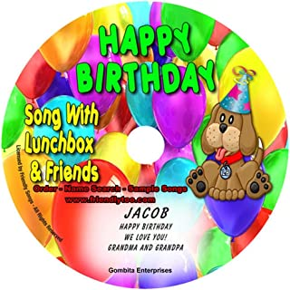 """Gombita Enterprises Name Personalized Music CD - Friendly Songs (1 Happy Birthday Song) - Music CD and """"New"""" Digital Content is HERE! - -"""