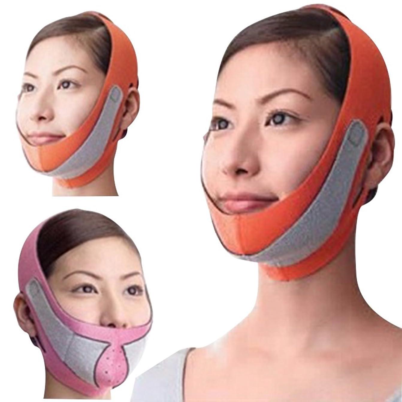 カテナコンテスト説明Remeehi 引き上げマスク 頬のたるみ 額 顎下 頬リフトアップ ピンク グレー 弾力V-ラインマスク 引っ張る リフティング フェイス リフトスリムマスク 美容 フェイスマスク オレンジ