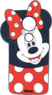 EMF Cute Mouse Case for Motorola Moto G6 Play/Moto E5 (XT1920DL),3D Cartoon Animal Silicone Protective Kawaii Funny Character Cover,Animated Cool Skin Case for Kids Teens Guys (Moto G6 Play/G6 Forge)