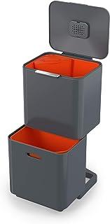 Joseph Joseph - Totem Max unité de Séparation des Déchets et de Recyclage - 60 litres - Graphite