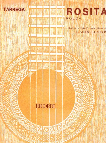 TARREGA - Rosita (Polka) para Guitarra