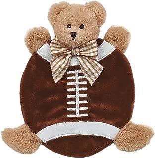Bearington Baby Wee Touchdown Plush Teddy Bear Security Blankie 8