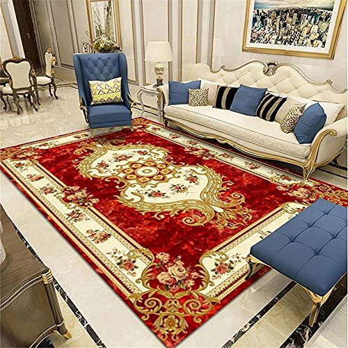 Kunsen alfombras Pasillo Modernas alfombras y moquetas Sala de Estar Alfombra roja Habitación Habitación Corredor Suelo Estera Rectángulo Suelo Exterior terraza 80X120CM 2ft 7.5' X3ft 11.2'