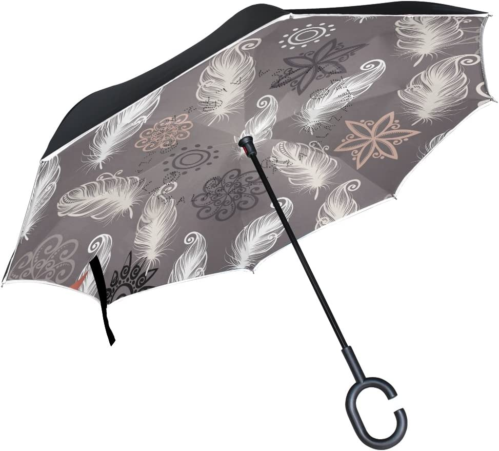 Top Carpenter Special price for a limited time Double Layer Reverse Charlotte Mall Caravel Inverted Sa Umbrellas