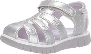 Stride Rite Baby-Girls Unisex-Child Olive Sandal