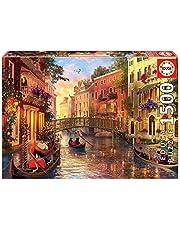 """Educa 17124.0 -""""1500 Sunset in Venice"""" puzzel"""