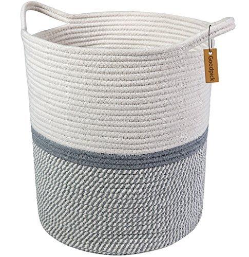 Goodpick Große Baumwolle Seil basket17.7 x 39