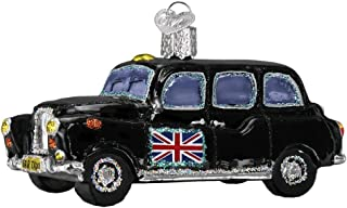 Old World Christmas 46079 Ornament, British Taxi