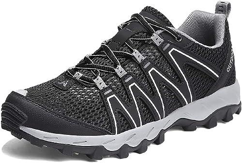 LXJL paniers paniers légères Chaussures de Marche Sport et Outdoor Hommes et Femmes Alpinisme Décontracté Chaussures Sport Confortable paniers,a,43  livraison rapide