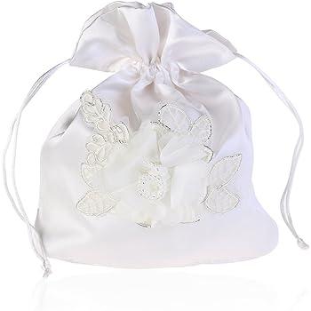 white bridesmaid drawstring backpacks bags
