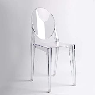 Ghost Lot DE 2 CHAISES Design Inspiration Victoria Transparente
