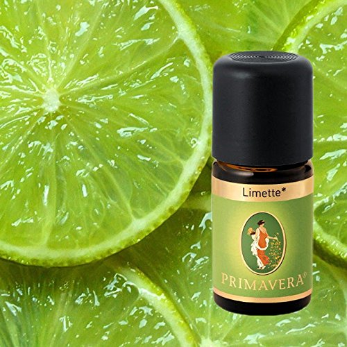 Primavera Bio Duftöle für Aromatherapie zu je 5ml, Duft:Limette Bio