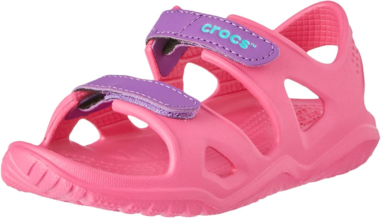 Crocs Unisex-Child Kids' Ranking integrated 1st place Swiftwater Mesh Ranking TOP2 Wave Sandals