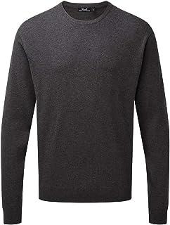 Premier Adults Unisex Cotton Rich Crew Neck Sweater