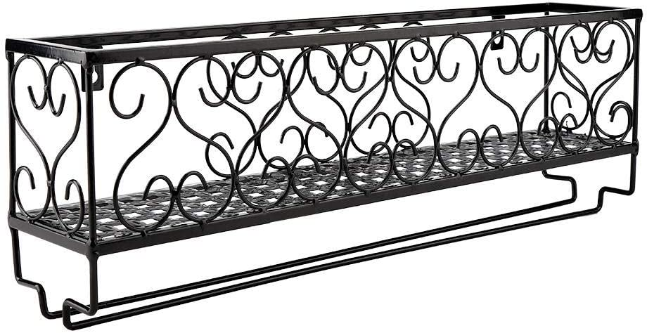 Chen-love1 Wall Mount 70% OFF Outlet Wine Rack Stylish quality assurance Metal H Durable and