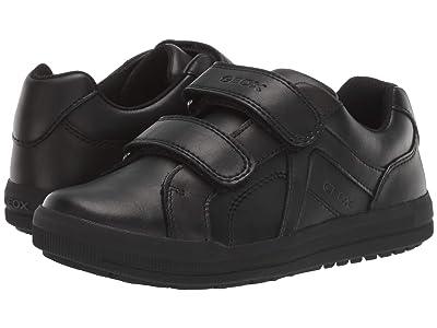 Geox Kids Jr Arzach 18 (Little Kid/Big Kid) (Black Oxford) Boys Shoes