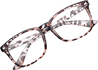 GAOYE Blue Light Blocking Glasses for Women Men,Spring Hinge Lightweight Computer Fake Eyeglasses Anti UV Filter - GYC8082