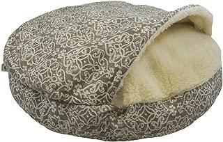 Snoozer Orthopedic Premium Micro Suede Cozy Cave Pet Bed