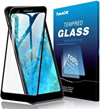 Google Pixel 3a Screen Protector, TopACE Google Pixel 3a Tempered Glass 9H Hardness [Case Friendly][Anti-Scratch][Bubble F...