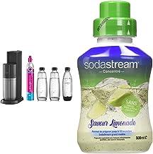 sodastream Pack Machine à Eau Pétillante et Soda 2 en 1 Duo Concentré Saveur Limonade – sans Aspartame, sans Conservateur ...