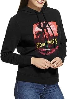 KennedyF Women's Stone Temple Pilots Core Hoodies Sweatshirt Black