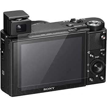 クロスフォレスト SONY RX100VII / RX100VI / RX100V / RX100IV / RX100III / RX100II / RX100 / RX1 / RX10 / RX1R 用 ガラスフィルム 液晶保護フィルム CF-GCSRX100