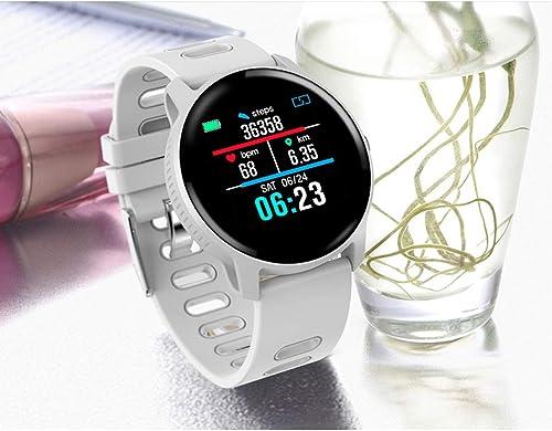Lbyhning Fitness Tracker Bracelet Intelligent Couple de Femmes Couple Fréquence Cardiaque Surveillance du Sommeil étape Compteur Information Sportive Push bleutooth Bracelet étanche