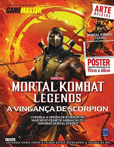 Superpôster Game Master - Mortal Kombat Legends