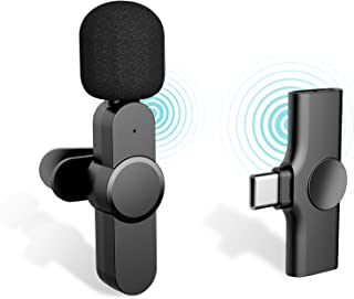 Sponsored Ad - iDiskk (Plug-Play) Wireless Lavalier Microphone for Youtube,Facebook Live Stream,Vloggers,Interview,Auto-sy...