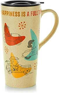 Hallmark Paj1117 Peanuts Travel Mug - Happiness Is a Full Tank