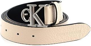 Calvin Klein Womens MONO ROUND REV PLAQUE 30MM Belt (pack of 1)