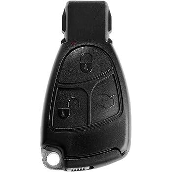 Llave de Coche SmartKey mando a distancia emisor llaves en blanco Llaves de emergencia SmartKey cromo para Mercedes Benz