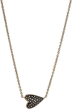 Vintage Glitz Black Glits Necklace