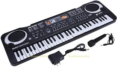 S&M TREADE-61 Keys Music Electronic Keyboard Kids Electric Piano Organ W/ Mic + Adapter NEW
