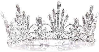 YNYA Tiare Corona da Sposa Fascia da Sposa Principessa Copricapo Accessori per Capelli Corona Nuziale Corona Regina Gioiel...