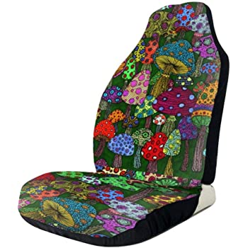 UNICEU Stylish African Dashiki Print Universal Seat Cover Durable Bucket Seat Cover for Car SUV Automotive