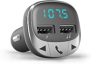 Energy Sistem Car Transmitter FM Bluetooth (Wireless Radio Transmitter, microSD, USB Charger, USB MP3)