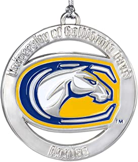 Fan Frenzy Gifts NCAA UC Davis Aggies Ornament