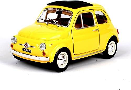 almacén al por mayor Penao Simulación de de de 1965 fiat 500F de Aleación Modelo de Coche, Modelo de Coche de Fiat, Adornos de Coche, Relación 1 24
