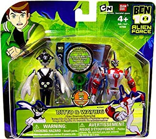 Ben 10 Alien Creation Chamber Mini Figure 2-Pack Ditto and Waybig