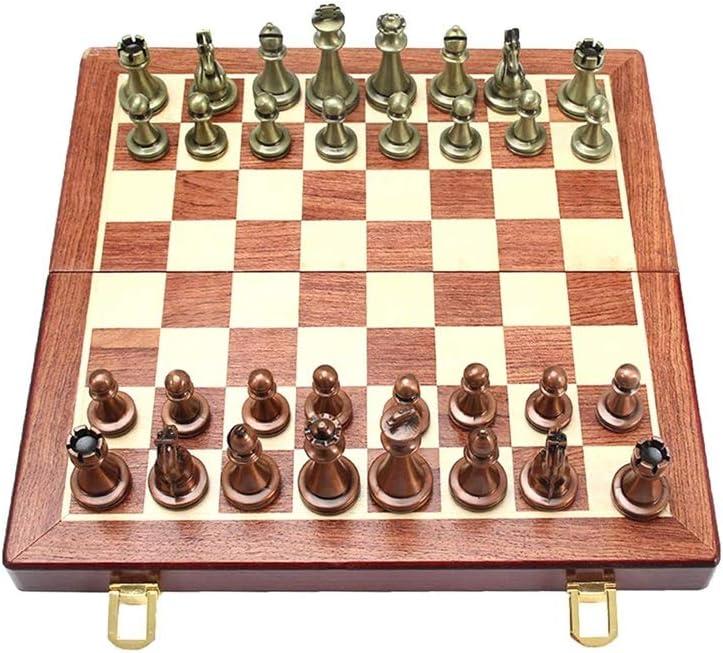 MKVRS Chess Surprise price Elegant Folding Set Retro Coppe Professional