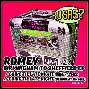 Birmingham To Sheffield