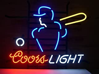 Coors Light Mlb Basebal Neon Sign 24