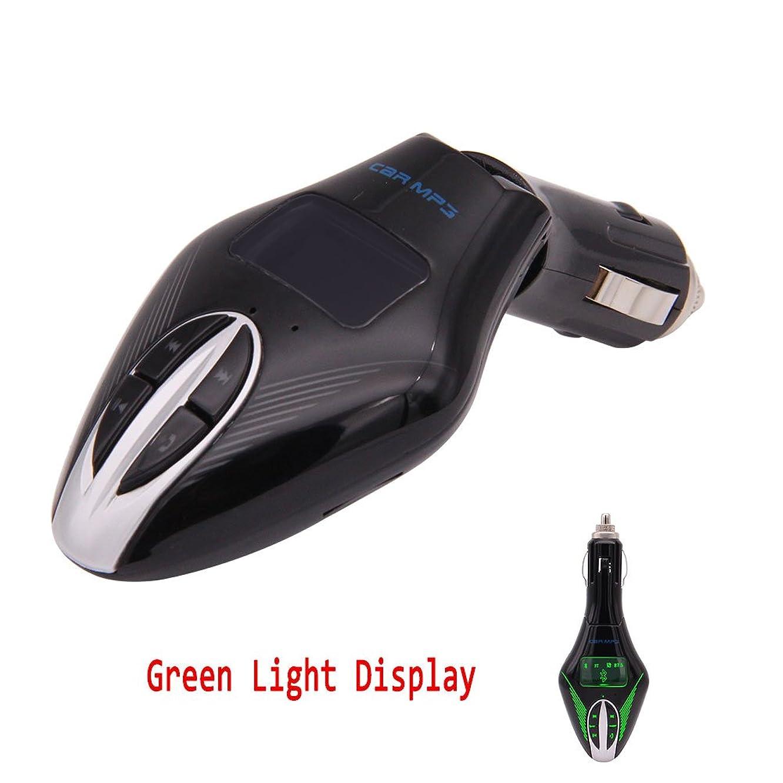 EinCar FM Transmitter Wireless Bluetooth Radio Adapter Car Kit WMA MP3 Player Streaming LCD Display USB Fast Car Charger U-disc/TF Card Music Playback