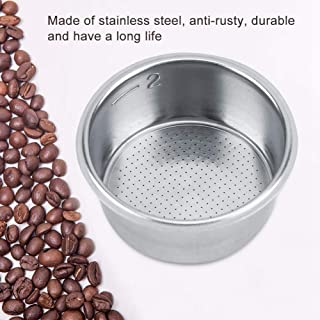 Filter basket, Stainless Steel Coffee Non Pressurized Filter Basket Strainer Single Layer Porous For Breville
