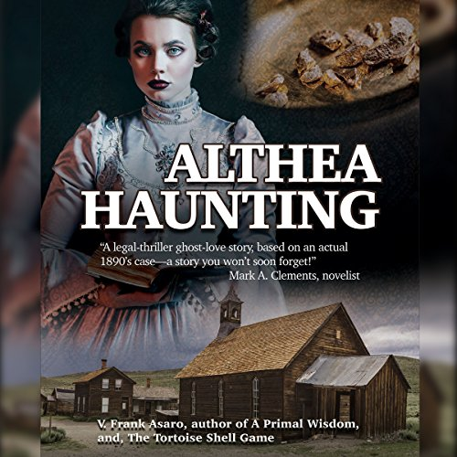 Althea Haunting audiobook cover art