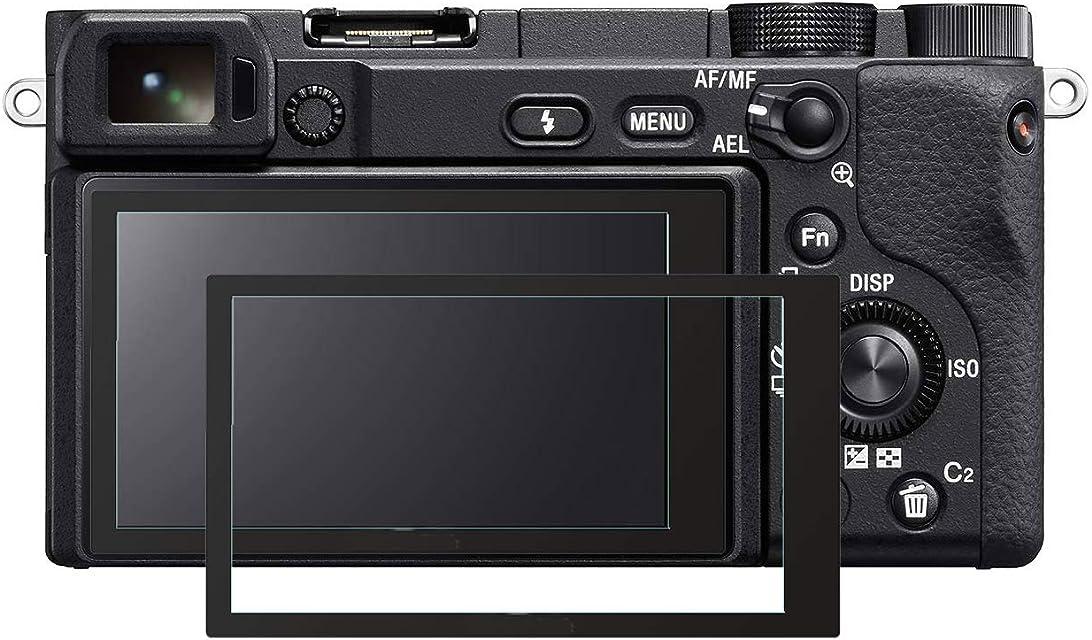 KOMET a6400 a6500 a5100 cristal táctil inclinable Protector de pantalla película cristal templado para Sony Alpha A6400 A5100 A6500 Digital cámara 2 unidades