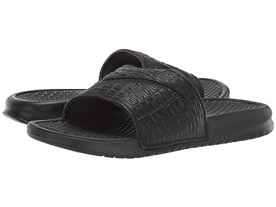 Nike Benassi Croc (Black) Women